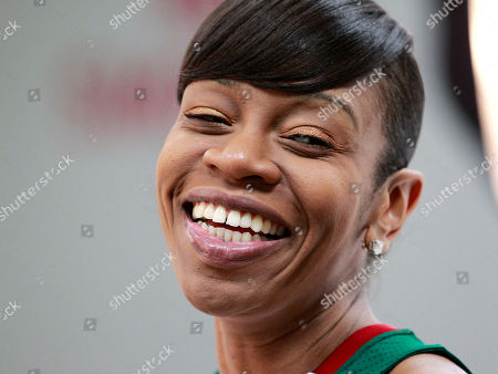 Tina Thompson Seattle Storm's Tina Thompson smiles during a media day for the basketball team, in Seattle. The Storm opens their season Friday, May 18, against the Los Angeles Sparks
