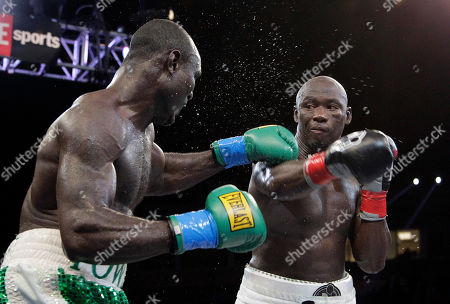 Antonio Tarver, Lateef Kayode Antonio Tarver, right, lands a punch to the face of Lateef Kayode, of Nigeria, in the 11th round of a cruiserweight boxing match in Carson, Calif., . The fight ended in a draw