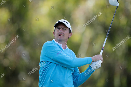 Peter Lawrie, of Ireland, during the first round of the U.S. Open Championship golf tournament, at The Olympic Club in San Francisco