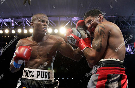 Winky Wright, Peter Quillin Winky Wright, right, takes a punch from Peter Quillin in the ninth round of a middleweight boxing match in Carson, Calif., . Quillin won by unanimous decision in the 10-round bout