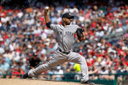 Cory Wade New York Yankees relief pitcher Cory Wade (53) throws during a baseball game with the Washington Nationals at Nationals Park on in Washington. The Yankees won in 14 innings