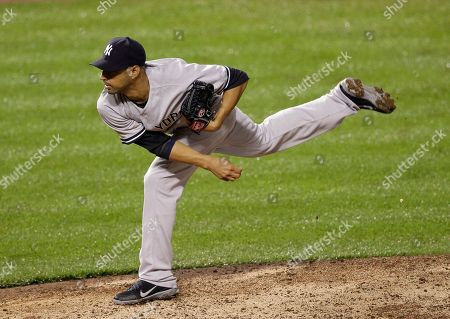 Cory Wade New York Yankees relief pitcher Cory Wade throws to the Baltimore Orioles during a baseball game in Baltimore