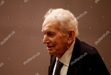 Jorge Zorreguieta The father of Queen Maxima of the Netherlands, Jorge Zorreguieta, arrives to attend his daughter's speech at the Pontifical Catholic University, in Buenos Aires, Argentina