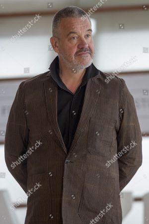 Stock Picture of Arnaud des Pallieres poses