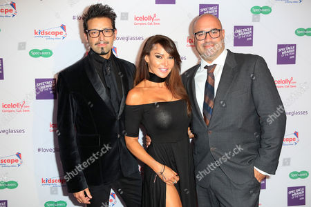Armand Beasley, Lizzie Cundy and Marc Abraham