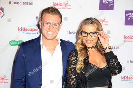 Editorial picture of Specsaver's Spectacle Wearer of the Year Awards, London, UK - 11 Oct 2016