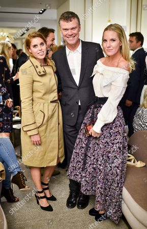 Princess Beatrice, Pierre Denis and Alice Naylor-Leyland