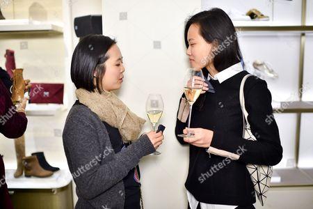 Tiffany Hwang and Norah Cheng