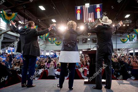 Editorial photo of Campaign 2016 Clinton, Pueblo, USA - 12 Oct 2016