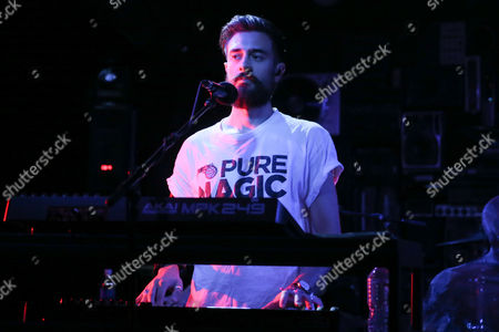 Editorial image of Bastille in concert at the Red Bull Sound Space at KROQ, Los Angeles, USA - 12 Oct 2016