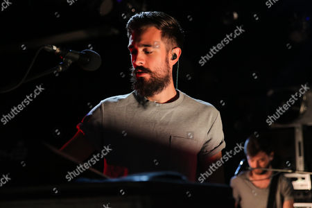 Editorial photo of Bastille in concert at the Red Bull Sound Space at KROQ, Los Angeles, USA - 12 Oct 2016