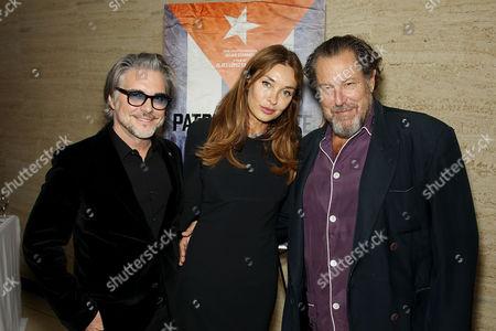 Stock Photo of Miguel Sirgado (Exec. Producer), Olatz Lopez Garmendia (Director), Julian Schnabel (Exec.Producer)