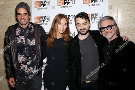 El Sexto, Olatz Lopez Garmendia (Director), Guest, Miguel Sirgado (Exec. Producer)