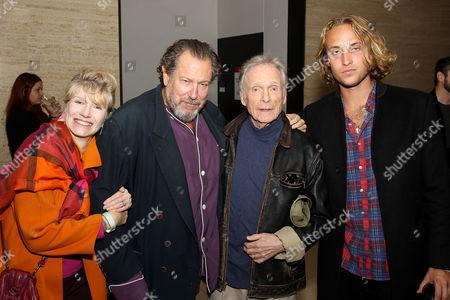 Martha Rogers, Julian Schnabel (Exec.Producer), Dick Cavett, Olmo Schnabel