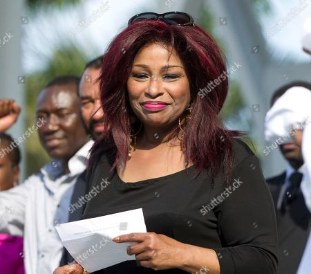 Chaka Khan Singer Chaka Khan joins a rally of support for the family of Trayvon Martin as thousands gather in downtown Miami, demanding justice for Martin. New York's Appollo Theater confirmed Friday, May 18, 2012 that Grammy-award winning singer Khan will perform a tribute to the late Whitney Houston at the Apollo Theater's gala and awards ceremony. Lionel Richie and the late Etta James will be inducted into the theater's hall of fame during the June 4 gala