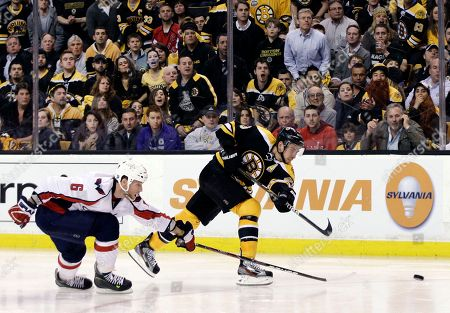 Editorial picture of Capitals Bruins Hockey, Boston, USA