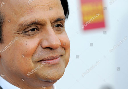 Stock Image of Ajay Mehta Actror Ajay Mehta poses at the opening night of the 10th Annual Indian Film Festival of Los Angeles