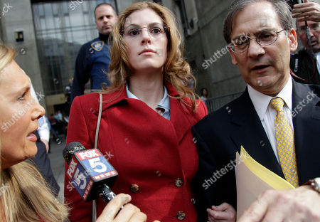 Jaynie Mae Baker Jaynie Mae Baker, center, leaves court with her lawyer Robert Gottlieb after her arraignment in State Supreme Court, in New York. Baker is accused of working for a high-priced brothel