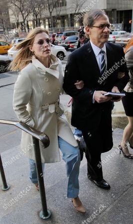 Jaynie Mae Baker, Robert Gottlieb Jaynie Mae Baker, left, enters court with her attorney, Robert Gottlieb, in New York