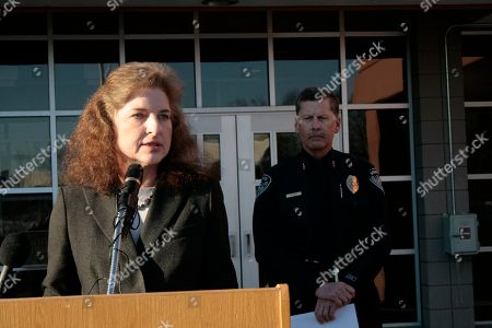 Stock Photo of Missing Barista FBI Special Agent in Charge Mary Rook addresses a news conference in Anchorage, Alaska, on . Anchorage Police and the FBI announced that they believe they recovered body of Samantha Koenig, 18, from a lake north of Anchorage. Koenig has been missing since Feb. 1, 2012, last seen on surveillance tape being led away from the coffee shack by what appeared to be an armed man