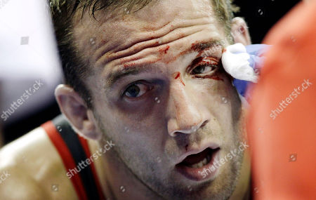 Tommy Rowlands Tommy Rowlands has blood wiped off his face during his 96-kilogram freestyle finals match against Jake Varner at the U.S. Olympic Wrestling Team Trials, in Iowa City, Iowa