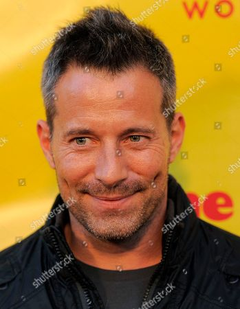 "Johnny Messner Johnny Messner, a cast member in ""She Wants Me,"" poses at the premiere of the film in Beverly Hills, Calif"