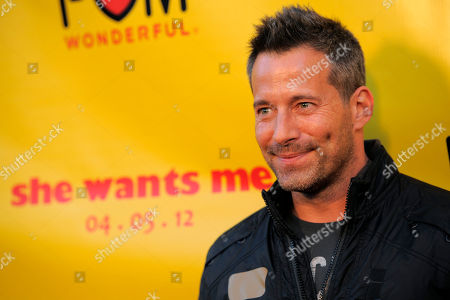 "Stock Photo of Johnny Messner Johnny Messner, a cast member in ""She Wants Me,"" poses at the premiere of the film in Beverly Hills, Calif"