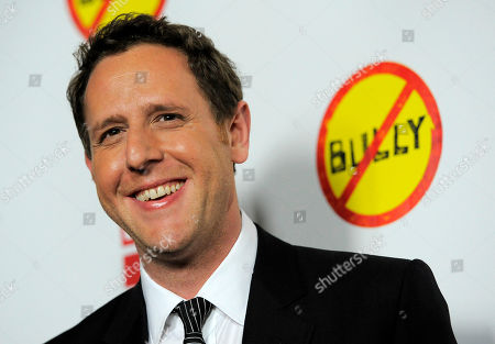 "Lee Hirsch Lee Hirsch, writer/director of the documentary film ""Bully,"" poses at the premiere of the film in Los Angeles, . The film about bullying in U.S. schools is released in theaters on Friday"