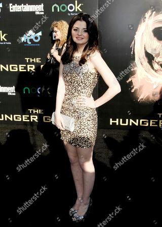 "Dakota Hood Dakota Hood arrives at the world premiere of ""The Hunger Games"" on in Los Angeles"