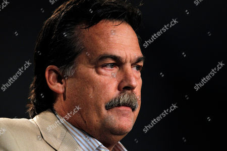 Jeff Fisher St. Louis Rams coach Jeff Fisher discuss the indefinite suspension of Rams defensive coordinator Gregg Williams, at the Rams' training facility in St. Louis. Williams was banned indefinitely on Wednesday because the New Orleans Saints defensive players were paid bounties for big hits on opponents from 2009-11 when Williams was with the team