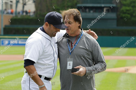 Octavio Dotal, Tony LaRussa Former St. Louis manager Tony LaRussa gives Detroit Tigers pitcher Octavio Dotel his World Series ring before the start of the baseball game between the Detroit Tigers and the Texas Rangers in Detroit, . Dotel was a member of the Cardinals when they won the World Series