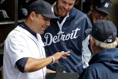 Gerald Laird Detroit Tigers catcher Gerald Laird looks over his World Series ring with teammates before the baseball game against the Texas Rangers in Detroit, . Laird, a member of the St. Louis Cardinals last year, was presented the ring by former manager Tony LaRussa