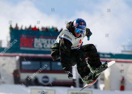Louie Vito Louie Vito competes in the men's halfpipe finals at the U.S. Open Snowboarding Championships in Stratton, Vt., on