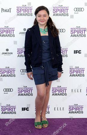 Amara Miller Amara Miller arrives at the Independent Spirit Awards, in Santa Monica, Calif