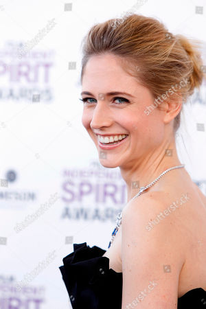 Stock Picture of Fiona Hefti Fiona Hefti arrives at the Independent Spirit Awards, in Santa Monica, Calif