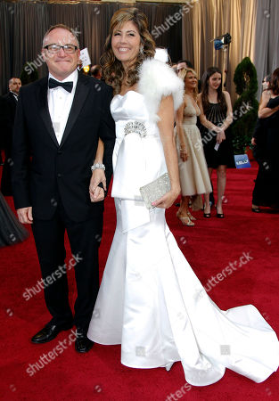 Kevin Tent, Carol Tent Kevin Tent, left, and Carol Tent arrive before the 84th Academy Awards, in the Hollywood section of Los Angeles