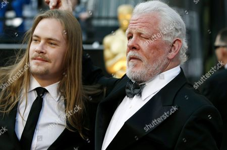 Nick Nolte, Brawley Nolte Nick Nolte and Brawley Nolte arrive before the 84th Academy Awards, in the Hollywood section of Los Angeles