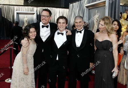 Amara Miller, Matthew Lillard, Nick Krause, Robert Forster Amara Miller, Matthew Lillard, Nick Krause, Robert Forster and his wife arrive before the 84th Academy Awards, in the Hollywood section of Los Angeles