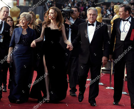 Angelina Jolie, Jane Pitt, William Pitt Actress Angelina Jolie, center, Jane Pitt, left, and William Pitt arrive before the 84th Academy Awards, in the Hollywood section of Los Angeles