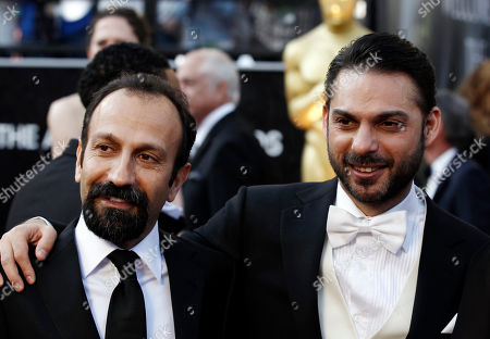 Asghar Farhadi, Peyman Moadi Asghar Farhadi, left, and Peyman Moadi arrive before the 84th Academy Awards, in the Hollywood section of Los Angeles