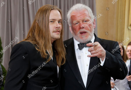 Brawley Nolte, Nick Nolte Brawley Nolte, left, and Nick Nolte arrive before the 84th Academy Awards, in the Hollywood section of Los Angeles