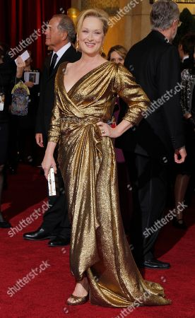 Meryl Streep, Don Gummer Actress Meryl Streep and her husband Don Gummer, left, arrive before the 84th Academy Awards, in the Hollywood section of Los Angeles