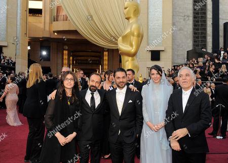Sarina Farhadi, Asghar Farhadi, Peyman Moadi, Leila Hatami, Mahmoud Kalari From left, Sarina Farhadi, Asghar Farhadi, Peyman Moadi, Leila Hatami and Mahmoud Kalari arrive before the 84th Academy Awards, in the Hollywood section of Los Angeles
