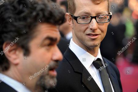 Joe Berlinger, Jason Baldwin Joe Berlinger, left, and Jason Baldwin arrive before the 84th Academy Awards, in the Hollywood section of Los Angeles