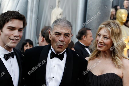 Nick Krause, Robert Forster Nick Krause, Robert Forster, and guest arrive before the 84th Academy Awards, in the Hollywood section of Los Angeles