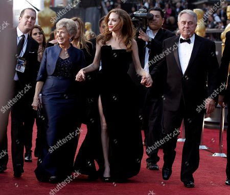 Jane Pitt, Angelina Jolie, William Pitt From left, Jane Pitt, Angelina Jolie and William Pitt arrive before the 84th Academy Awards, in the Hollywood section of Los Angeles
