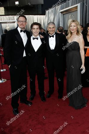 Matthew Lillard, Nick Krause, Robert Forster Matthew Lillard, Nick Krause, Robert Forste, and his wife arrive before the 84th Academy Awards, in the Hollywood section of Los Angeles