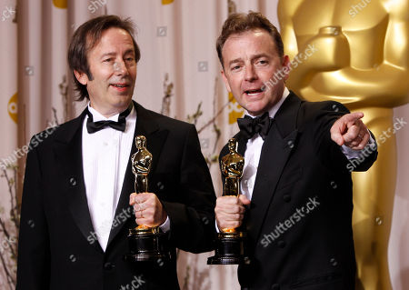 Editorial picture of 84th Academy Awards Press Room, Los Angeles, USA