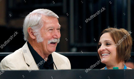 Bela Karolyi, Mary Lou Retton Bela Karolyi, left, and former American gymnast Mary Lou Retton, who was on the USA women's team that Karolyi coached to an Olympic gold medal in the 1996 Altanta Olympics, share a laugh during the American Cup gymnastics meet at Madison Square Garden in New York