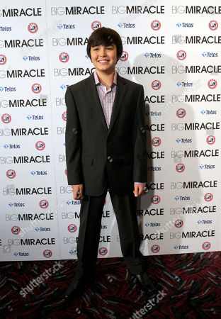 Editorial picture of Big Miracle Premiere, Washington, USA